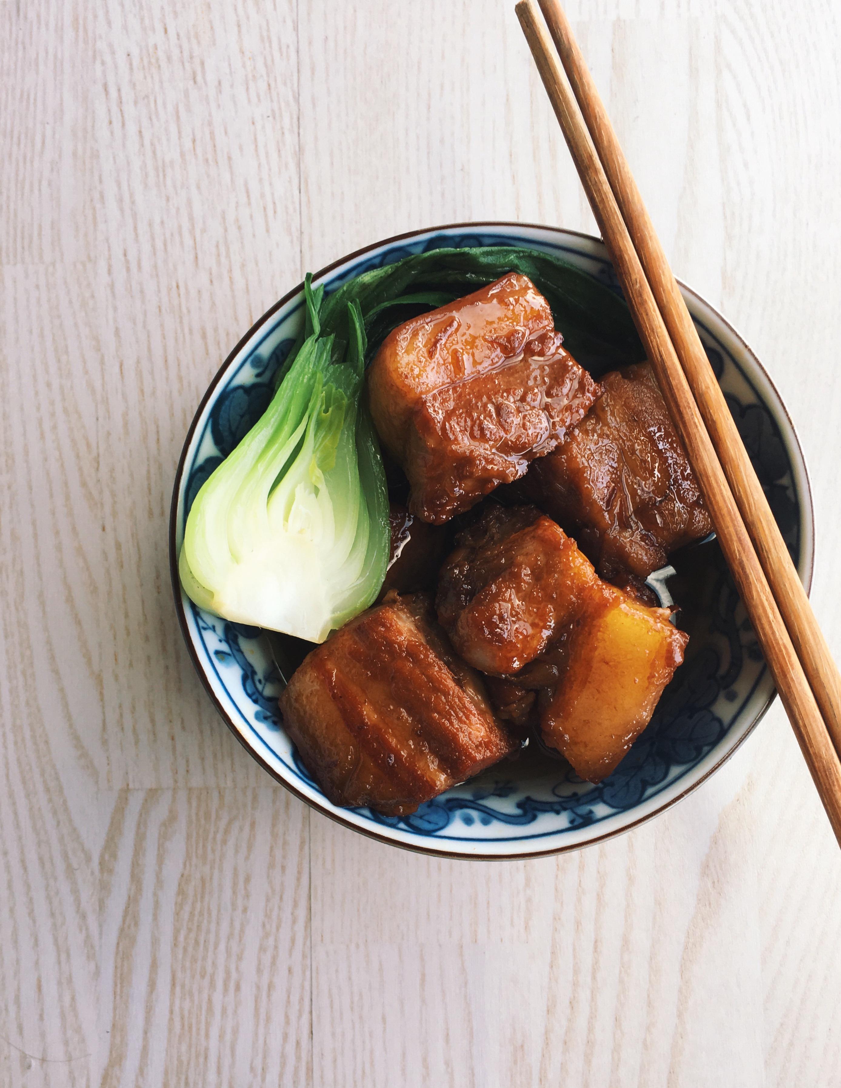 Japanese Braised Pork Belly (Buta No Kakuni) | Not Another Food Blog